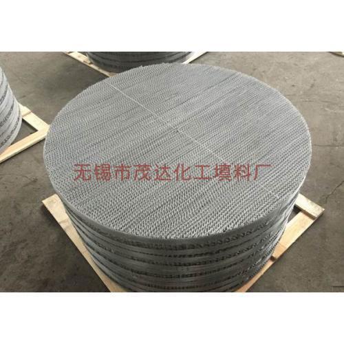 不锈钢丝网波纹填料 丝网填料 丝网波纹填料